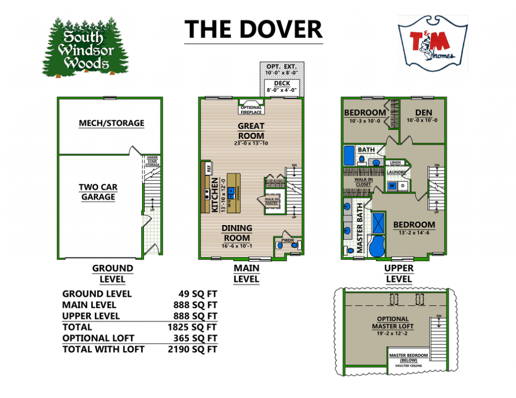 The Dover - Layout