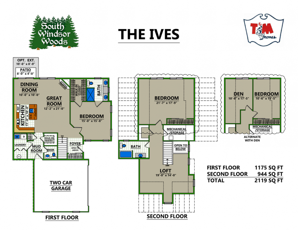 The Ives - Layout
