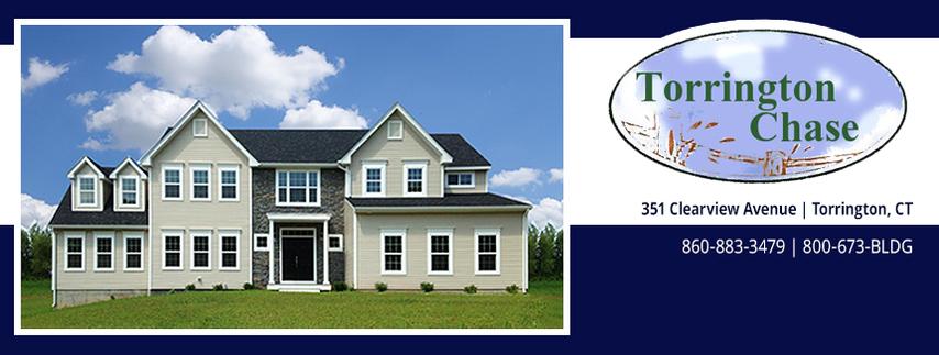 Torrington Chase house and Logo